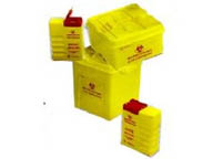 BIOC10L waste container for items capable of causing punctures or cuts
